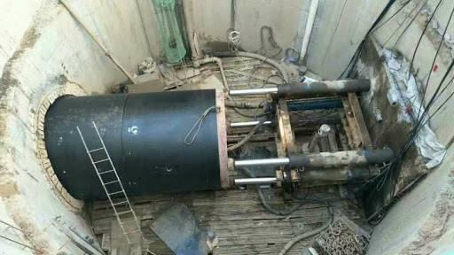 大型机械顶管非开挖